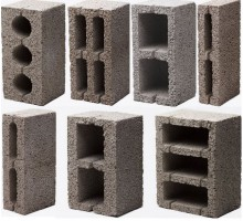 Блок керамзитный пустотелый