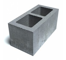 Блок пустотелый