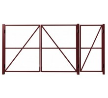 Комплект ворот с калиткой